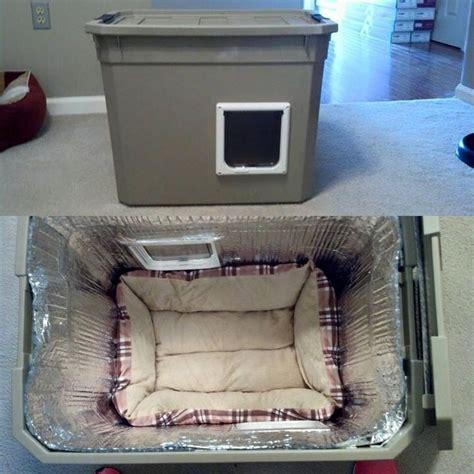 outdoor cat shelter   built    easy