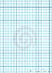 1 4 Scale Graph Paper Graph Paper A4 Sheet Royalty Free Stock Images Image