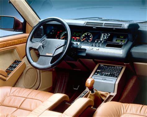 renault 25 v6 turbo renault r25 v6 turbo baccara 1990 1992 guide occasion