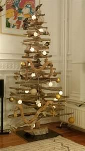 Arbre De Noel En Bois : arbre de noel en bois d co no l fabriquer 45 id es pour ~ Farleysfitness.com Idées de Décoration