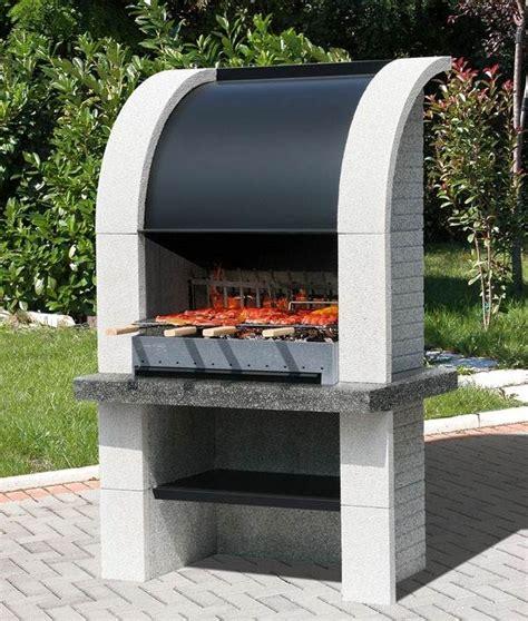 barbecue fixe fonctionnel et esth 233 tique dans le jardin moderne