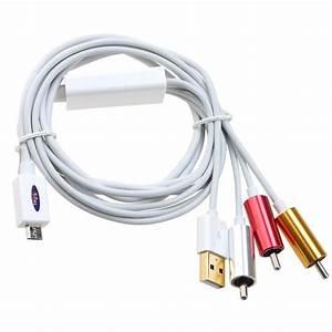 Klettbänder Für Kabel : micro usb auf cinch hdtv adapter av kabel fuer samsung galaxy s4 siv i9500 s3 a1 ebay ~ Markanthonyermac.com Haus und Dekorationen