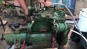 Simplex 10  12 Twin Marine Engine