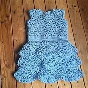 robe a volant tuto crochet facile lidia crochet tricot With robe au crochet facile
