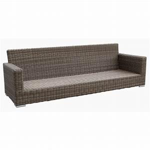 sunset west coronado sofa with cushions in driftwood free With coronado outdoor sectional modern sofa black
