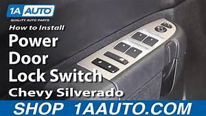 How To Replace Power Door Lock Switch 07