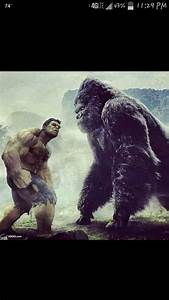 The gallery for --> King Kong Vs The Incredible Hulk