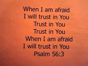 Children U0026 39 S Ministry  Psalm 56 3 Bible Verse Song
