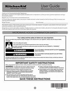 Kitchenaid Kmhc319ewh Use And Care Manual