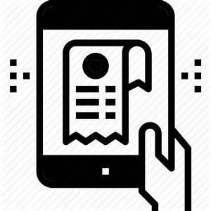 Bill, document, e, ereceipt, invoice, receipt icon | Icon ...