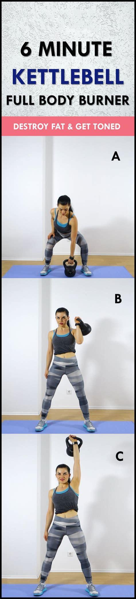 workout kettlebell minute fat