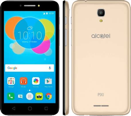 alcatel pixi 4 5 5 5012f phone specifications manual user guide