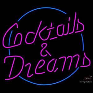 Cocktails neon signs – Custom Neon Sign in UK