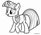 Pony Coloring Pages Twilight Sparkle Printable Cool2bkids sketch template