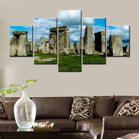 Famous Historic Monuments Stonehenge England Landscape
