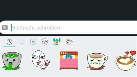 In Whatsapp Gibt's Jetzt Sticker