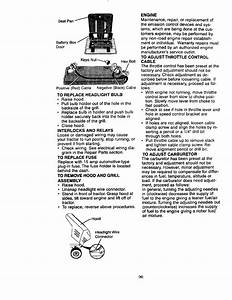 Craftsman 917271014 User Manual Lawn Tractor Manuals And