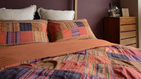 Madras Duvet by Madras Colourful Patchwork Duvet Cover Bed Company