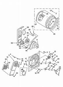 Kenmore Dryer Bulkhead Parts