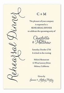 everyday charm rehearsal dinner invitations dinner With wedding invitation wording guests pay meals
