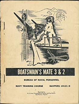 Boatswain Course by Boatswain S Mate 3 2 Navy Course Navpers