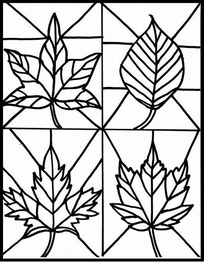 Glass Stained Coloring Window Pages Craft Popular