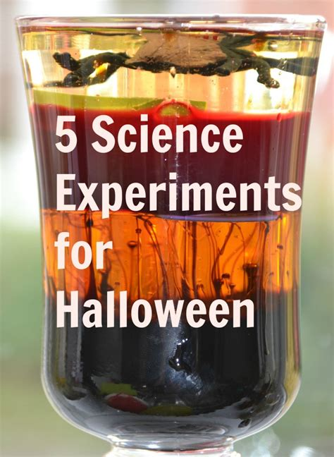 spooky science experiments  halloween tots