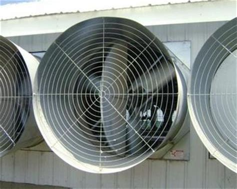 Fan With by Galvanized Tunnel Fans Fans And Shutters Climate