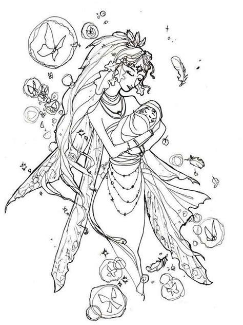 Fairy Coloring Pages Fairy coloring pages Fairy