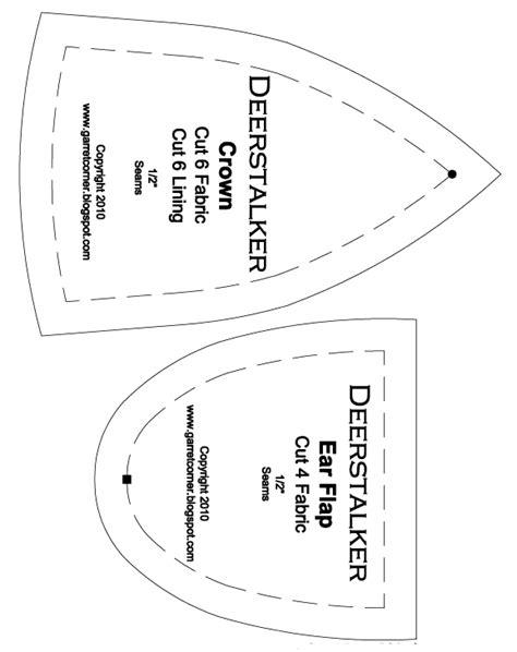 deer ear template printable