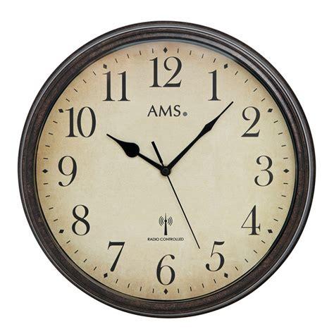 Große Uhr Wand by Ams Vintage Funkwanduhr 5962 Metall Vintage Wanduhr