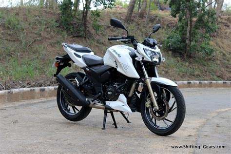 tvs apache rtr 200 4v test ride review shifting gears