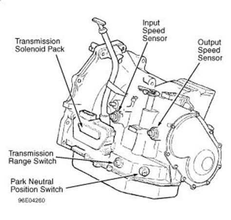 Plymouth Transmission Diagram by 1998 Plymouth Voyager Speed Sensor For Transmission How