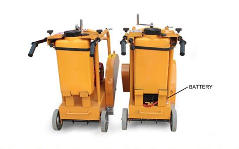 road cutting saw machine concrete buffer machine used