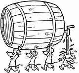 Barril Desenho Colorir Coloring Barrel Kreativer Pflanztopf Wie Bit Bier Maus Vorlagen Zurueck sketch template