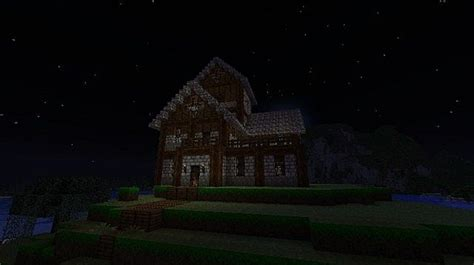 story medieval house minecraft project