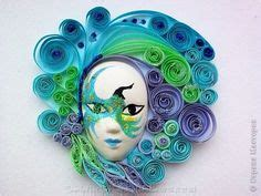 masks images quilling paper quilling quilling art