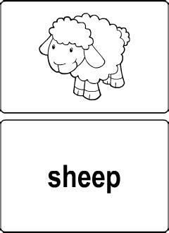 domestic animals vocabulary  kids learning english