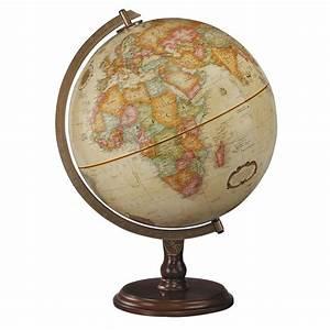 Replogle Globe 31536 Lenox Antique Globe, Off-White   ATG ...