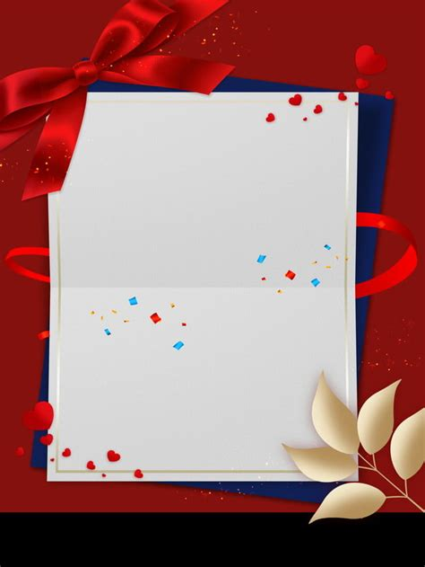 red bow annual meeting invitation background board leaves