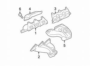 Gmc Acadia Exhaust Manifold  Left  Liter  System