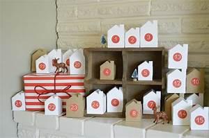 Idée Cadeau Calendrier De L Avent Adulte : calendrier de l avent petites maison diy with a love ~ Melissatoandfro.com Idées de Décoration