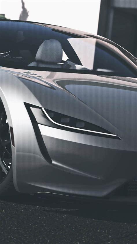 wallpaper tesla roadster gta   cars electric car