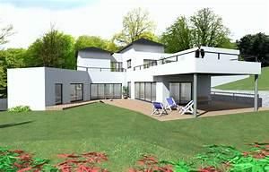 couleur maison construction notre etude champagne maison With exemple plan de maison 2 couleur maison construction etude maison cubique azur