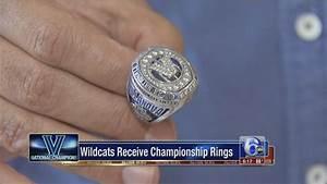 Villanova Wildcats receive championship rings | 6abc.com
