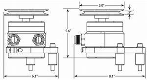 4 Vane Mechanical Vacuum Pump Kit