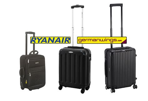 koffer handgepäck leicht perfekter handgep 228 ck koffer ab 8 99 billig flieger trolley ryanair reisetiger