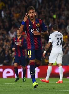 Neymar in FC Barcelona v Paris Saint-Germain - UEFA ...