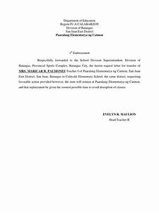 Letter Of Intent Application Job Endorsement Letter