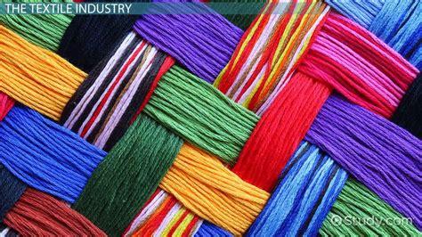 textile industry process video lesson transcript